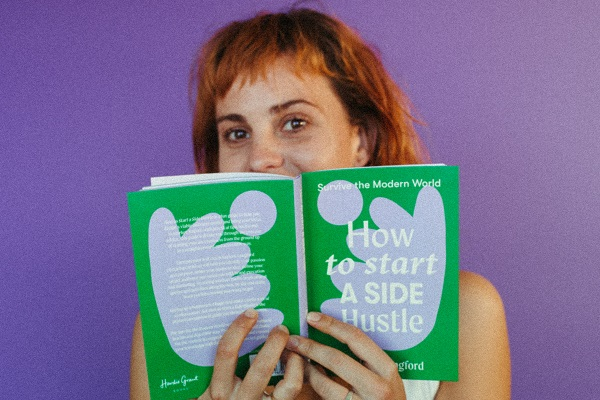 How to Start a Side Hustle Book Launch 25 August