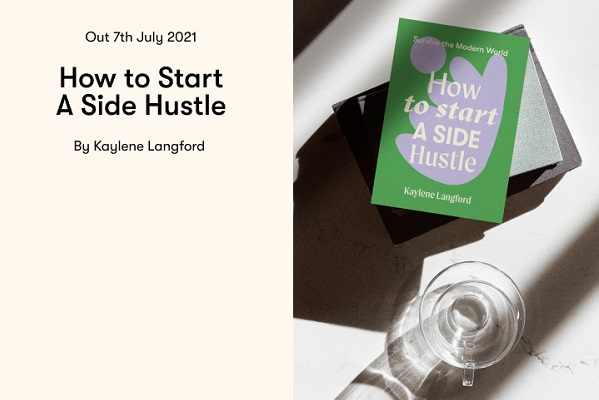 How to Start a Side Hustle book launch
