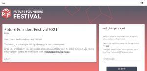 Festival Hub landing page